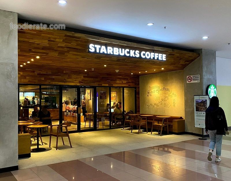 Lokasi Starbucks Coffee di Universitas Tarumanagara 1
