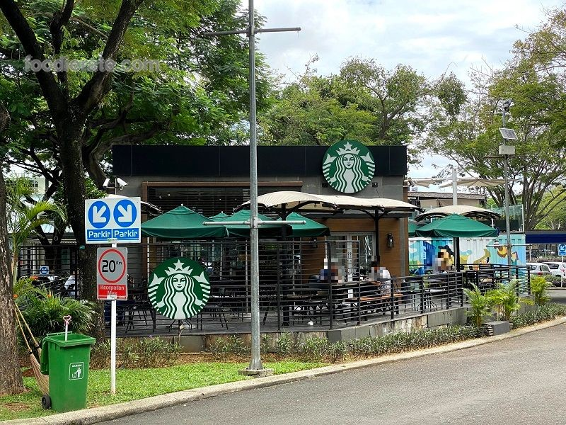 Lokasi Starbucks Coffee di Flavor Bliss