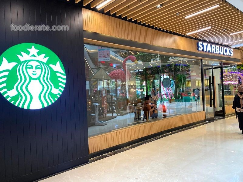 Lokasi   Starbucks Coffee di Green Sedayu Mall