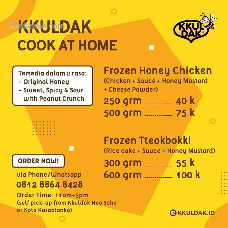 Daftar Harga Menu Kkuldak Frozen Cook At Home