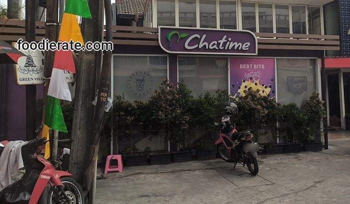 Lokasi Outlet Chatime Green Ville