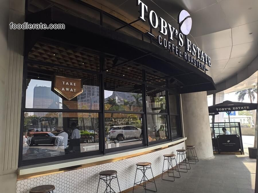 Suasana Cafe Toby's Estate Pik Avenue