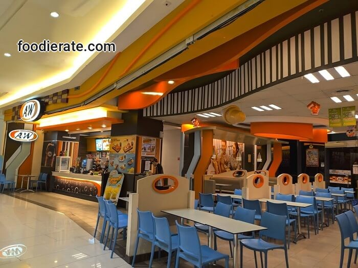 Lokasi Restoran A&W di Baywalk Mall
