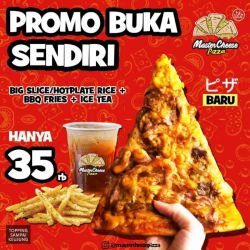 Promo Master Cheese Pizza