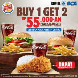 Promo Burger King BCA
