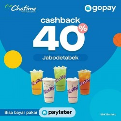 Promo Chatime GoPay