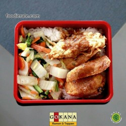 Menu Donburi 2 (Fry Mix Special) Gokana