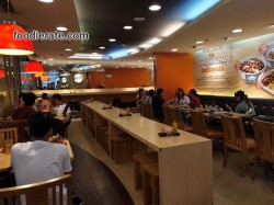 Interior Yoshinoya di Citraland