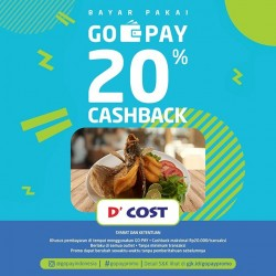 Promo D' Cost GoPay
