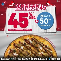 Promo Domino's Pizza