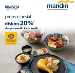 Promo Old Town White Coffee Kartu Mandiri