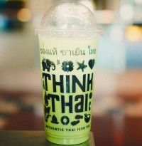 Menu Thai Iced Greentea Think Thai Tea