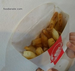 Menu French Fries Wendy's