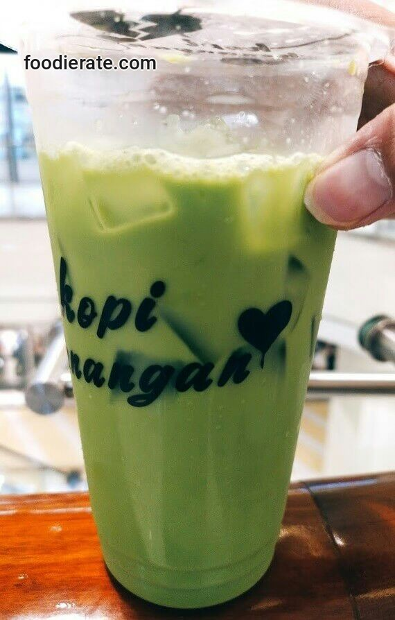 Thai Green Tea di Kopi Kenangan